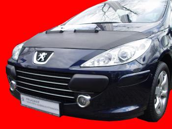 プジョー ノーズブラ Peugeot 307 2003-2009 CUSTOM CAR HOOD BRA NOSE FRONT END MASK プジョー307 2003-2009 CUSTOM CAR HOOD BRA NOSEフロントエンドのMASK