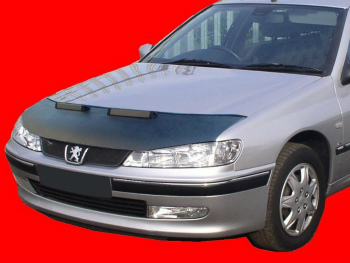 プジョー ノーズブラ Peugeot 406 1995-2004 CUSTOM CAR HOOD BRA NOSE FRONT END MASK プジョー406 1995-2004 CUSTOM CAR HOOD BRA NOSEフロントエンドのMASK