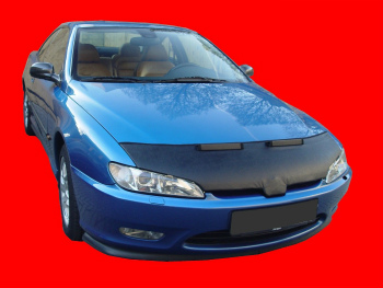 プジョー ノーズブラ Peugeot 406 Coupe 1997-2001 CUSTOM CAR HOOD BRA NOSE FRONT END MASK プジョー406クーペ1997から2001 CUSTOM CAR HOOD BRA NOSEフロントエンドのMASK