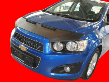 シボレー ノーズブラ Chevrolet Aveo since 2011 CUSTOM CAR HOOD BRA NOSE FRONT END MASK 2011 CUSTOM CAR HOOD BRA NOSE前端MASK以来シボレーアベオ
