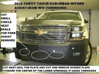 シボレー フルブラ Lebra Front End Mask Bra Fits 2015-2016 15 16 Chevrolet Tahoe リブラフロントエンドマスクブラは2015年から2016年15 16シボレータホに適合します
