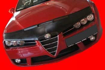 アルファロメオ ノーズブラ ALFA ROMEO 159 2005-2011 CUSTOM CAR HOOD BRA NOSE FRONT END MASK ALFA ROMEO 159 2005-2011 CUSTOM CAR HOOD BRA NOSEフロントエンドのMASK