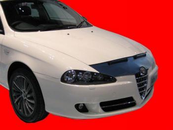 アルファロメオ ノーズブラ ALFA ROMEO 147 2004-2010 CUSTOM CAR HOOD BRA NOSE FRONT END MASK ALFA ROMEO 147 2004-2010 CUSTOM CAR HOOD BRA NOSEフロントエンドのMASK