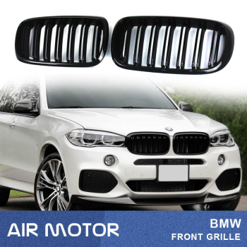 BMW グリル PIANO BLACK 14-16 FOR BMW F15 X5 M LOOK FRONT GRILLE ピアノブラック14-16 FOR BMW F15のX5 MはLOOKフロントグリル