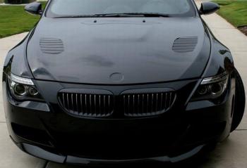 BMW グリル Shiny Black BMW E63 E64 LCI M6 Convertible coupe 630 635 645 650 Front Grille シャイニーブラックBMW E63 E64 LCI M6コンバーチブルクーペ630 635 645 650フロントグリル