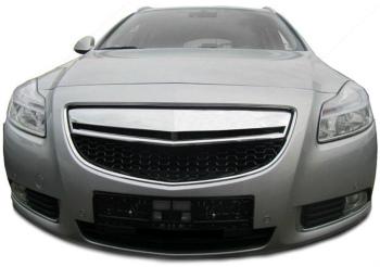 オペル グリル Front black chrome grill radiator sport Grille for Opel Insignia from 08 08からオペルインシグニアのためのフロントブラッククロームグリルラジエタースポーツグリル