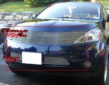 日産 ムラーノ グリル For 03-08 Nissan Murano Billet Grille Combo Insert 03から08のための日産ムラーノビレットグリルコンボ挿入