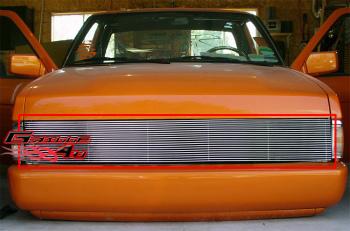 日産 Pickup グリル For 86-97 Nissan Pickup Phantom Billet Grille Insert 86から97日産ピックアップファントムビレットグリルの挿入のために