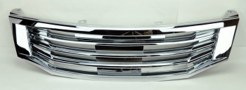 ホンダ アコード グリル Honda Accord 08-10 4dr JDM Style Front Chrome Bumper Hood Grill ホンダアコード08-10 4DR JDMスタイルフロントクロームバンパーフードグリル