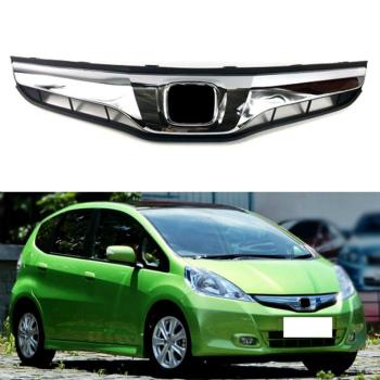 ホンダ フィット グリル Luxury Style For Honda Fit/Jazz 11-13 Car Front Hood Grill Mesh Grille Vent Hole ホンダフィット/ジャズ11-13車のボンネットグリルメッシュグリルベントホールのために豪華スタイル