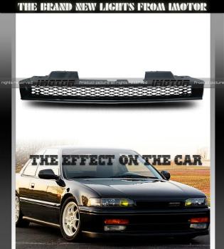 ホンダ アコード グリル 90-93 Honda Accord LX/EX JDM ABS Mesh Badgeless Sport Type Front Black Grille 90-93ホンダアコードLX / EX JDM ABSメッシュBadgelessスポーツタイプのフロント・ブラックグリル