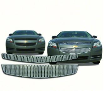 シボレー グリル 2008-2012 Chevrolet Malibu Chrome Grille Overlay IWCGI68 2008-2012シボレーマリブクロームグリルオーバーレイIWCGI68