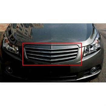 シボレー グリル Front Radiator Luxury Hood Grill UNPAINTED For 08 09 10 11 Chevy Cruze 08 09 10 11シボレークルーズのフロントラジエター高級フードグリル塗装されていません