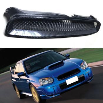 スバル インプレッサ グリル Retrofit For Subaru Impreza 8th 04-05 Carbon Fiber Front Mesh Grill Grilles Trim スバルインプレッサ第八04-05カーボンファイバーフロントメッシュグリルグリルトリムのためにレトロフィット