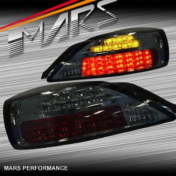日産 シルビア テールライト YASHIO Factory Smoked Tail Lights LED Indicators for Nissan 200SX Silvia S15 八潮工場スモークテールライトは日産200SXシルビアS15用のLEDインジケータ