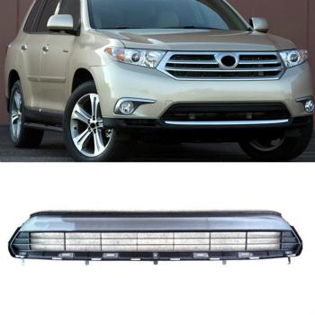 トヨタ Highlander グリル For Toyota Highlander 2011-2013 High Quality Front bumper vents Grille トヨタハイランダーのために2011-2013高品質フロントバンパーはグリルの通気口