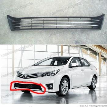 トヨタ カローラ グリル 1PC New OEM Front lower grille for Toyota Corolla 2014-2016 トヨタカローラ2014-2016用1PC新しいOEMフロント下部グリル