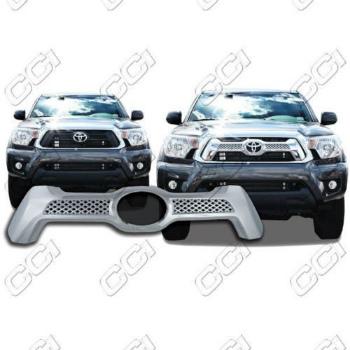 トヨタ タコマ グリル Chrome Grille Overlay FITS 2012 2013 2014 2015 Toyota Tacoma クロームグリルオーバーレイ2012 2013 2014 2015トヨタタコマをFITS