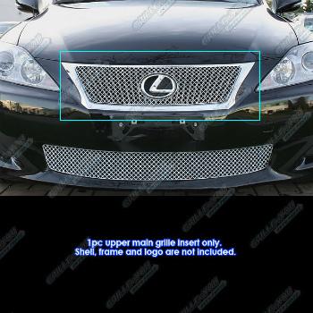 レクサス グリル Fits 2009-2011 Lexus IS 250/IS 350 Stainless Steel X Mesh Grille Insert 2009-2011レクサスは、250/350ステンレス鋼のXメッシュグリルインサートIS ISフィット
