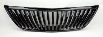 レクサス グリル Lexus RX330 RX350 04-09 Vertical Gloss Black Front Hood Bumper Grill レクサスRX330 RX350 04-09垂直グロスブラックフロントフードバンパーグリル