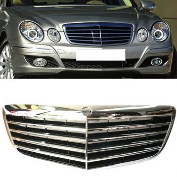 ベンツ グリル For Benz W211 E200 E240 E280 E320 2002-2009 Automobile Grille Front Grill ベンツW211 E200 E240 E280 E320 2002から2009年の自動車グリルフロントグリルのための