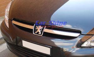 プジョー グリル Peugeot 307 CHROME GRILLE BARS 2001 to 2005 プジョー307 CHROME GRILLEのBARS 2001?2005