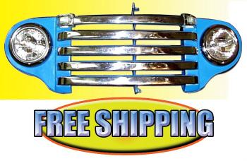 フォード グリル Stainless Grill Bars 1948 1949 1950 Ford Pickup Truck 1948 1949 1950フォードピックアップトラックステンレスグリルバー
