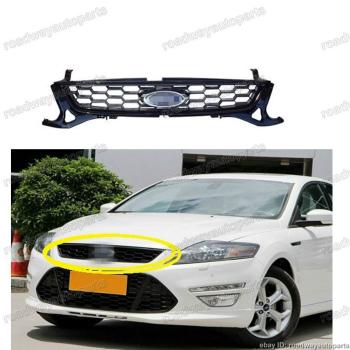 フォード グリル 1pc new OEM Front Bumper Upper Radiator Grille for Ford Mondeo 2011-2012 フォードモンデ??オ2011-2012のための1個の新しいOEMフロントバンパーアッパーラジエーターグリル