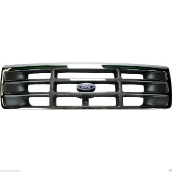 フォード グリル OEM NEW 1994-1997 Ford F150 F250 F350 Platinum Chrome Front Grille F4TZ8200A OEM NEW 1994-1997フォードF150 F250 F350プラチナクロームフロントグリルF4TZ8200A