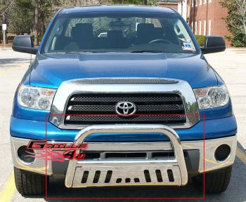 トヨタ タコマ グリルガード Fits 2008-2013 Toyota Sequoia/2007-2014 Toyota Tundra S/S Bull Bar 2008-2013トヨタセコイア/ 2007-2014トヨタタンドラS / Sブルバーフィット