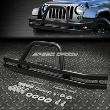 Jeep ジープ グリルガード OE STYLE CARBON STEEL FRONT BUMPER BRUSH GRILLE GUARD FOR 87-06 JEEP WRANGLER 87から06 JEEPラングラーのためのOE STYLE炭素鋼フロントバンパーBRUSH GRILLE GUARD