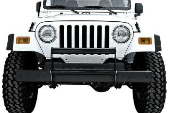 ☆送料無料☆USパーツ 海外メーカー輸入品 Jeep ジープ グリルガード 新作入荷 Rugged Ridge ブラックプッシュバー 頑丈リッジ11511.02 Push 登場大人気アイテム - Black 11511.02 Bar
