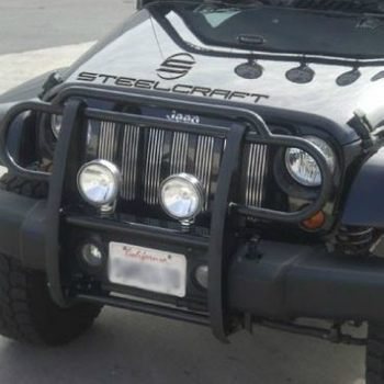 Jeep ジープ グリルガード STEELCRAFT 52200 Grill Guard for Jeep Wrangler JK (Excl. Moab)/07-14 ジープラングラーJK用STEELCRAFT 52200グリルガード(除。モアブ)/ 7月14日