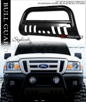 フォード RANGER グリルガード FOR 1998-2011 FORD RANGER BLACK HD BULL BAR BRUSH PUSH BUMPER GRILL GRILLE GUARD 1998-2011 FOR FORD RANGER BLACK HD BULLのBARブラシPUSHバンパーグリルグリルガード