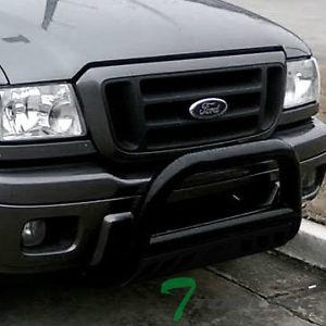 フォード RANGER グリルガード BLK HD STEEL BULL BAR BRUSH PUSH BUMPER GRILL GRILLE GUARD 1998-2011 FORD RANGER BLK HD鋼BULL BARブラシPUSH BUMPER GRILL GRILLE GUARD 1998から2011 FORD RANGER