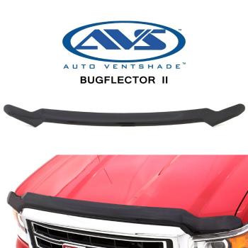 トヨタ タコマ バグガード 25681 AVS Bugflector II Smoke Bug Shield for Toyota Tacoma 2016-2016 トヨタタコマ2016-2016のための25681 AVS Bugflector II煙バグシールド