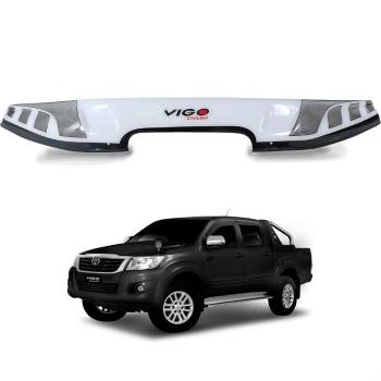トヨタ ハイラックス バグガード For 12-14 Toyota Hilux SR5 VIGO KUN Pickup Bonet Bug Guard Protect ABS White 12-14トヨタハイラックスSR5 VIGO KUNピックアップボネットバグガードのためのABSホワイトの保護