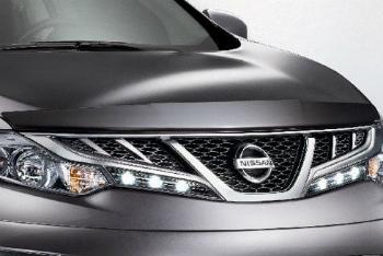 日産 ARMADA バグガード Genuine Nissan Murano 2009-2014 Hood Bug Shield Deflector NEW OEM 日産純正ムラーノ2009-2014フードバグシールドデフレクタNEW OEM