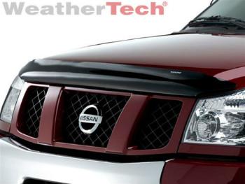 日産 ARMADA バグガード WeatherTech? Stone & Bug Deflector Hood Shield for Nissan Armada - 2004-2013 2004-2013 - 日産アルマダのためWeatherTech?ストーン&バグディフレクターフードシールド