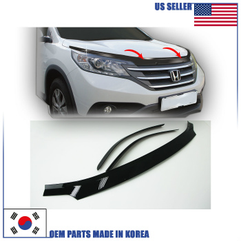 HONDA CR-V バグガード SAN HOOD GUARD AIR DEFLECTOR BUG SHIELD (B038) HONDA CR-V 2012-2016 SAN HOOD GUARD AIR DEFLECTORバグSHIELD(B038)HONDA CR-V 2012から2016