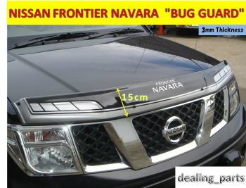 NISSAN NAVARA  バグガード BUG SHIELD HOOD GUARD FOR NISSAN FRONTIER NAVARA 2005-2011 NISSAN FRONTIER NAVARA 2005-2011 FOR BUG SHIELD HOOD GUARD