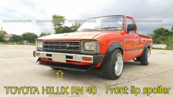 TOYOTA HILUX スポイラー JDM NEW for TOYOTA HILUX RN 40 Front lip spoiler premium sheet metal 1/32