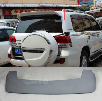 Land Tail Cruiser Land LC200 Rear TOYOTA トヨタランドクルーザーLC200 Unpainted 2008年から2015年については未塗装スポイラーリアウイングテールリップ Cruiser For スポイラー 2008-2015 Lip Toyota Wings Spoilers