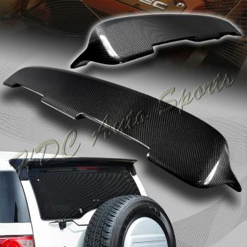 TOYOTA FJ Cruiser スポイラー For 2007-2014 Toyota FJ Cruiser J-Style Real Carbon Fiber Rear Roof Spoiler Wing 2007-2014のためのトヨタFJクルーザーJ-スタイルレアルカーボンファイバーリアルーフスポイラーウイング