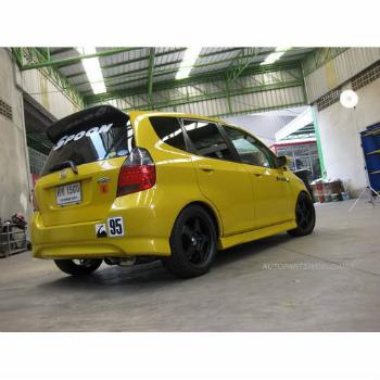 ホンダ FIT スポイラー 2002 2003 2004 2005 06 2007 Honda Fit Jazz GD Rear Wing Roof Spoiler Unpainted 2002 2003 2004 2005 06 2007ホンダフィットジャズGDリアウイングルーフスポイラー未塗装