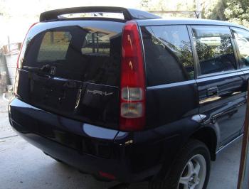 ホンダ HR-V ( HRV ) スポイラー Fiberglass roof rear spoiler for Honda HR-V ( HRV ) ホンダHR-V用のグラスファイバールーフリアスポイラー(HRV)