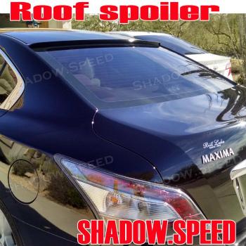 NISSAN Maxima  スポイラー Painted B Type Rear Roof Spoiler Wing For Nissan Maxima A35 Sedan 2009~14  日産マキシマA35セダン?14 2009のために描かれたBタイプリアルーフスポイラーウイング