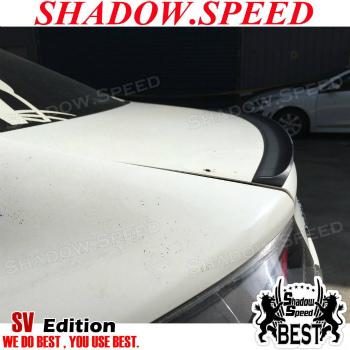Infiniti G35  スポイラー Unpainted SV Rear Boot Trunk Lip Spoiler Wing For Infiniti G35 2005-06 Sedan  インフィニティG35 2005-06セダンのために塗装されていないSVリアブートトランクリップスポイラーウイング