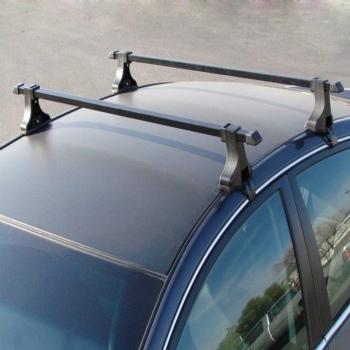 """クロスバー Universal Pair Car Top Luggage Kayak Cargo Cross Bars Roof Rack Carrier 48"""" SUV ユニバーサルペアカートップ荷物Kayakの貨物クロスバールーフラックキャリア48"""