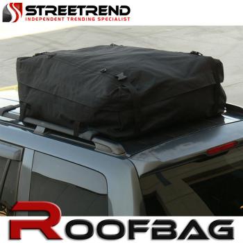 防水 ルーフキャリアバック Universal Waterproof Roof Top Cargo Carrier Bag Travel Luggage Storage Black S18 ユニバーサル防水ルーフトップカーゴキャリーバッグ旅行荷物預かりブラックS18